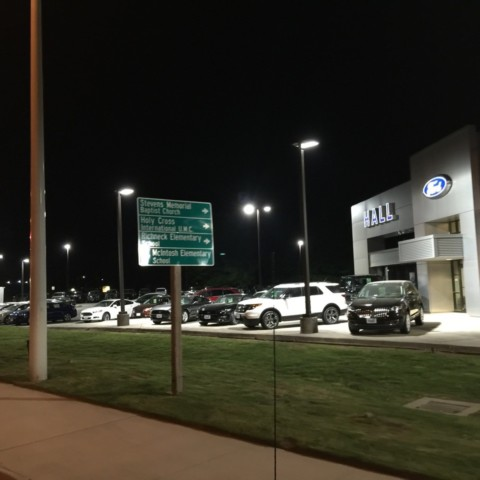 LED Retrofit - Dealership Exterior Lighting